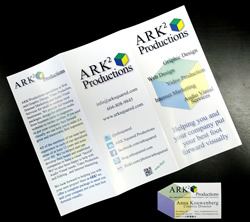 ARK Squared Brochure & Business Card