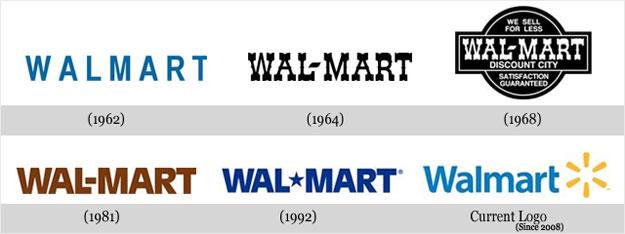 Walmart Logo Transition