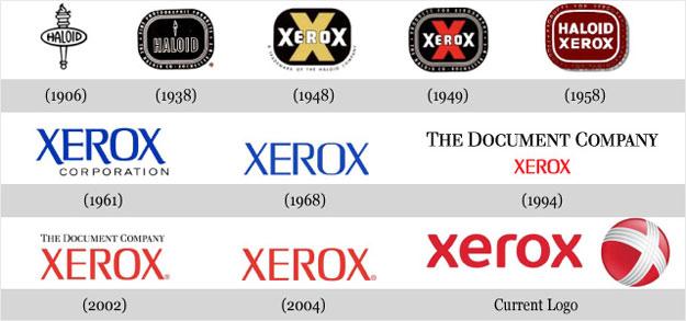 Xerox Logo Transition